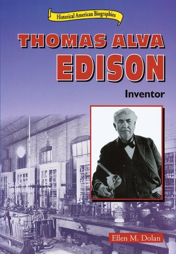 a biography of thomas a edison an american inventor In the first public demonstration of his incandescent lightbulb, american inventor thomas alva edison lights up a street in menlo park, new jersey.