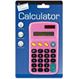 Just Stationery Pocket Calculator - Assorted Colours