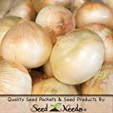 Package of 450 Seeds, Walla Walla Onion (Allium cepa) Non-GMO Seeds by Seed Needs