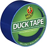 Duck Brand 1304959 Color Duct Tape, Blue, 1.88 Inches x 20 Yards, Single Roll