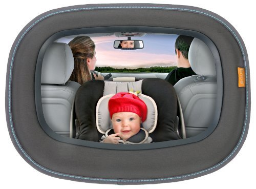 Brica Baby In-Sight Auto Mirror For In Car Safety Newborn, Kid, Child, Childern, Infant, Baby
