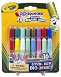 Crayola 16ct Washable Pip Squeaks Glitter Glue