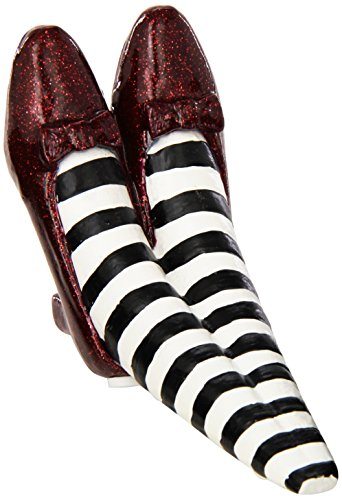 The Wizard of Oz Red Ruby Slippers Doorstop - Wicked Witch of the East