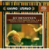 Chopin : Concertos pour piano n° 1 et n° 2 / Rubinstein