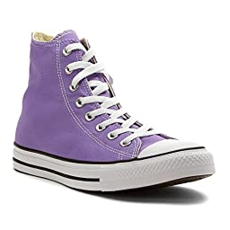 Converse Unisex Mens Chuck Taylor All Star Hi Top Seasonal Fashion Sneaker Shoe, Frozen Lilac, 7.5