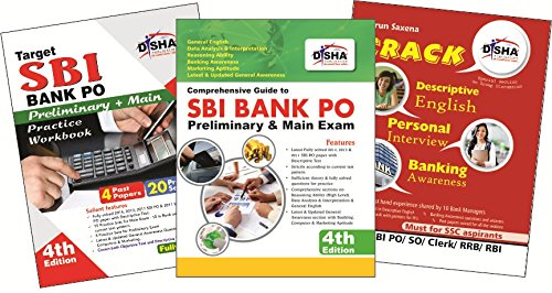 Crack SBI Bank PO Exam with CD (Guide + Solved + 20 Practice Papers) for Prelim & Main with Descriptive Test & PI