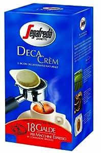 Order 6 x Segafredo Decaf Espresso ESE Pods (18 x 7g) from Segafredo Zanetti