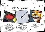 Face Paint Kit for Kids (Paints Over 50 Faces) Painting Kit Includes 8 Vivid Colors, Brushes and Sponges - Water-Based Paint Applies Easy & Dries Fast - Featured on PinBusters TV®