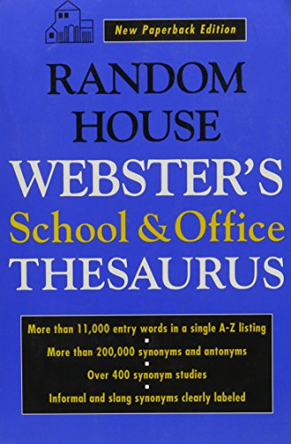 Random House Webster's School and Office Thesaurus - Import It All