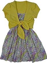LnLClothing Girl39s 3 Piece Short Sleeve Dress and White Leggings