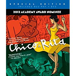 Chico & Rita Collector's Edition (Three-Disc Blu-ray/DVD/CD Soundtrack Combo)