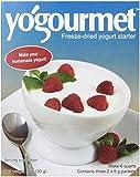 Yogourmet Freeze Dried Yogurt Starter, 1 ounce box (Pack of 6)