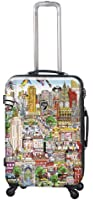 Heys USA Luggage Fazzino New York Wind Beneath Our Wings 26 Inch Hardside Spinner