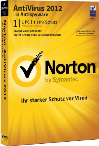 Norton AntiVirus 2012 - 1 PC
