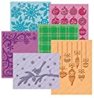 Cuttlebug Embossing Folder Set - HSN Snow Time / Winter Wonderland