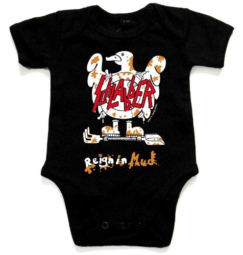 Racker n-roll sCHLABBER-reign amplificateur hybride en mud bébé-body noir