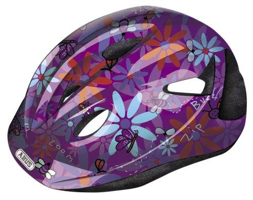 ABUS Children's Bicycle Helmet Rookie, M (52-57 cm) Beetle Purple
