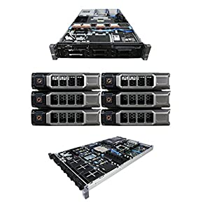 High-End Virtualization Server 12-Core 128GB RAM 12TB RAID Dell PowerEdge R710 Bezel and Rails (Certified Refurbished)