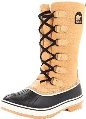 SOREL Womens Tivoli High Curry Boots 7.5 B - Medium