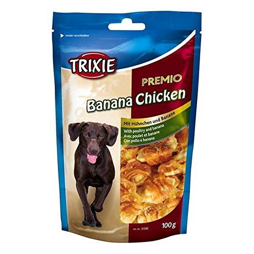 TRIXIE Premio banana chicken 100gr - Snack e biscotti cane ossa