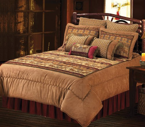 Hiend Accents Moose Bedding, King