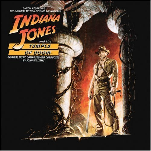 Indiana Jones and the Temple of Doom [Original Motion Picture Soundtrck] by John Williams, Cole Porter, Barry Liebermann, Bruce Bramsand Dennis Trembly