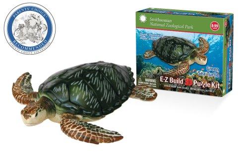 Smithsonian E-Z Build Puzzle - Green Sea Turtle