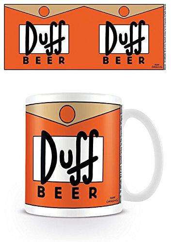 La tazza in ceramica con stampa Simpson, Birra Duff