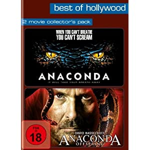 Anaconda/Anaconda: Offspring - Best of Hollywood/2 Movie Collector's Pack (german Version)