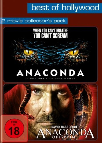 Best of Hollywood - 2 Movie Collector's Pack: Anaconda / Anaconda: Offspring [2 DVDs]