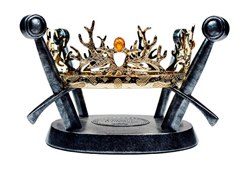 Game Of Thrones - The Royal Crown of the Houses Baratheon and Lannister (Iron Throne Replica compare prices)