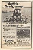 1987 Buffalo Ridge Runner 2000 Ridge Till No-Till Planter Tractor Farming Print Ad (Memorabilia) (57968)