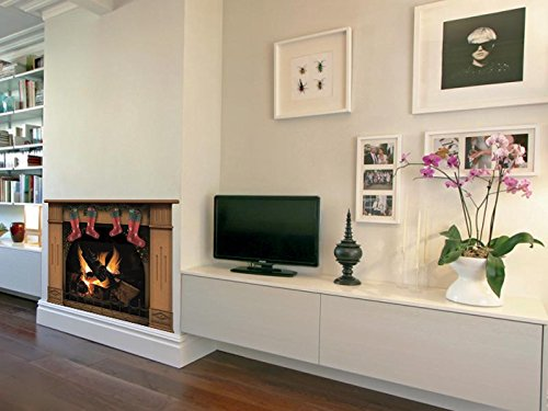 weihnachten socken h ngen am kamin weihnachtsdekoration weihnachtsstrumpf. Black Bedroom Furniture Sets. Home Design Ideas