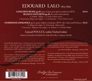 Lalo: Concerto Russe / Symphonie Espagnole