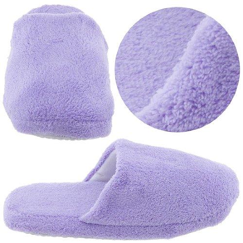Cheap Lavender Slip On Slippers for Women (B0044VEK5W)
