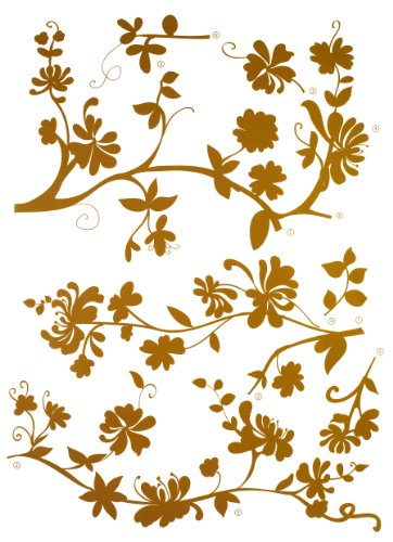 Brewster Komar FS17015 Peel & Stick Frasca European Wall Decals