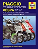 Vespa GT GTS 125 200 Repair Manual Haynes Service Manual Workshop Manual 2003-2009