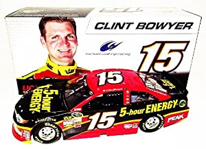 Buy *2X AUTOGRAPHED2013 Clint Bowyer Brian Pattie #15 5-HOUR ENERGY (Waltrip Racing) Lionel 1 24 NASCAR (Gen 6) SIGNED... by Trackside Autographs