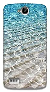 The Racoon Lean Crystal Sea hard plastic printed back case / cover for Huawei Honor Holly