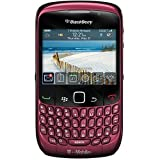 Blackberry Gemini 8520 Unlocked Phone with 2 MP Camera, Bluetooth and Wi-Fi - US Warranty - Fuschia