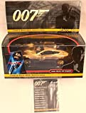 James Bond 007 - 1:36th Scale Gold Plated Limited Edition Aston Martin V12 Vanquish