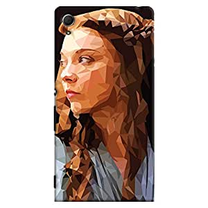 ColourCrust Sony Xperia Z4 Mobile Phone Back Cover With Low Poly Art - Durable Matte Finish Hard Plastic Slim Case