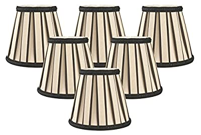 Royal Designs English Pleated Chandelier Lamp Shade