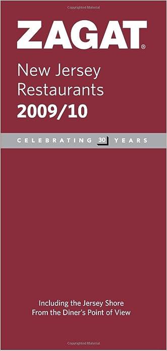 2009/ 2010 New Jersey Restaurants (ZAGAT Restaurant Guides)