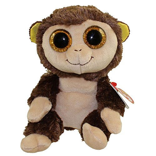 "Ty Beanie Boo 6"" Plush Audrey The Monkey"