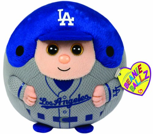 Ty Beanie Ballz Mlb Los Angeles Dodgers Medium Plush front-790782