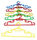 Amore Plastic Multi Hanger Set (Set of 6, AMV-029)