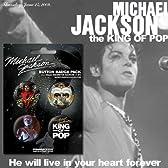 マイケルジャクソン缶バッチパック(4個入)BP80305