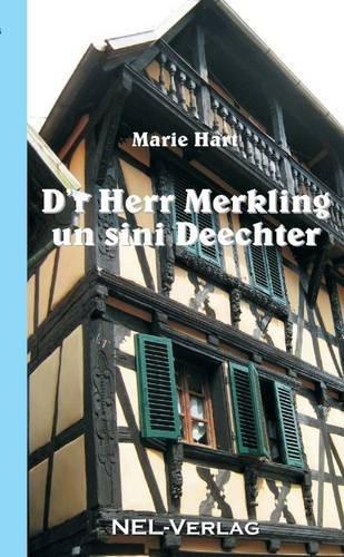 Buchcover: D'r Herr Merkling un sini Deechter