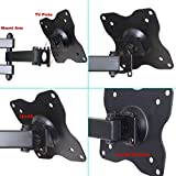 VideoSecu-Articulating-TV-LCD-Monitor-Wall-Mount-Full-Motion-15-Extension-Arm-Tilt-Swivel-for-Most-15-17-19-20-22-23-24-26-27-LED-TV-Flat-Panel-Screen-with-VESA-100x10075x75